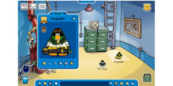 creepy penguin