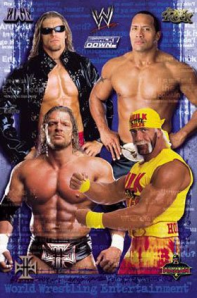 edge and the rock and hulk hogan